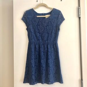 Blue lace dress- Urban Outfitters